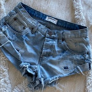 One Teaspoon Bandits Jean Shorts 26